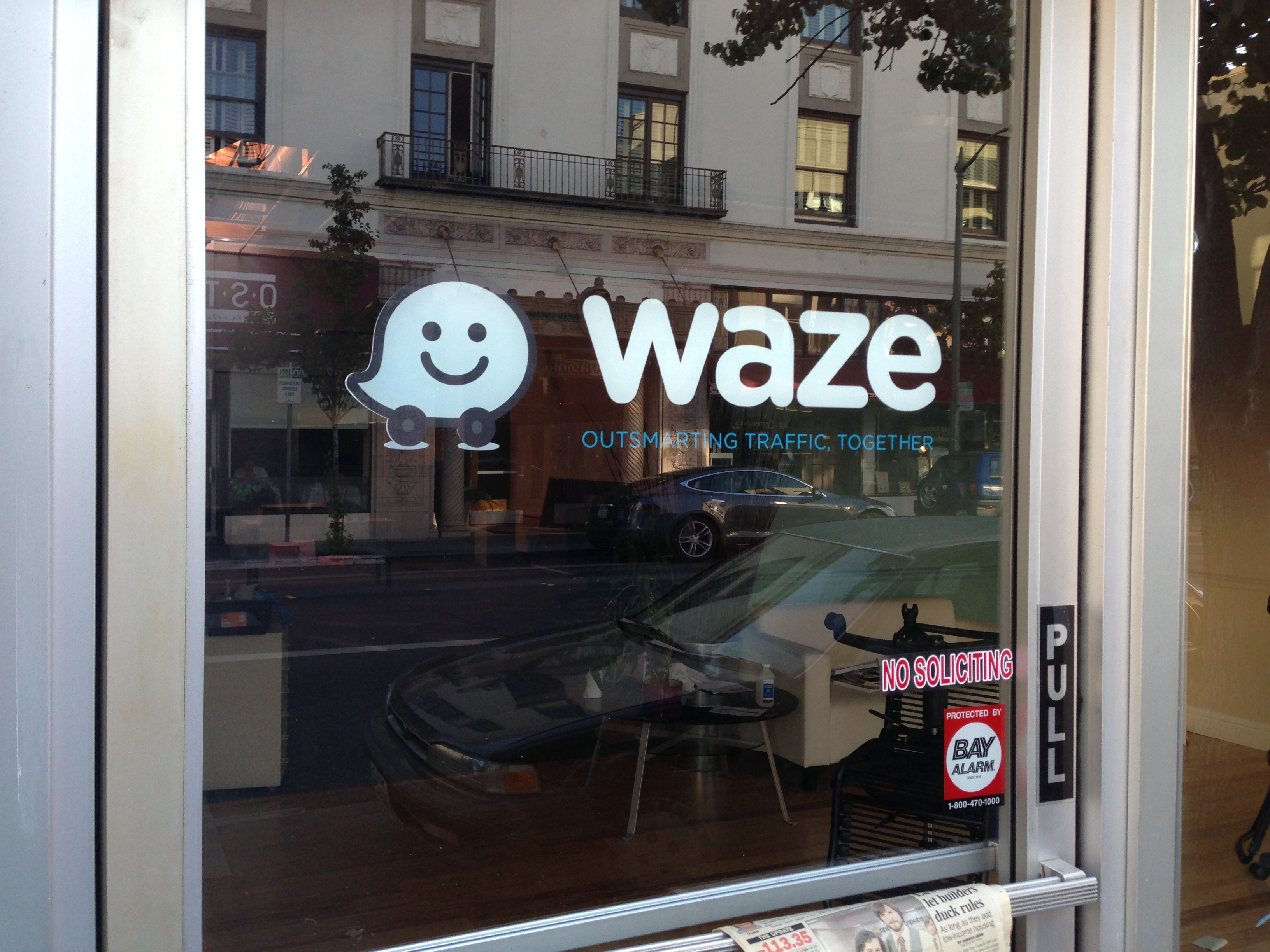 waze leaves palo alto