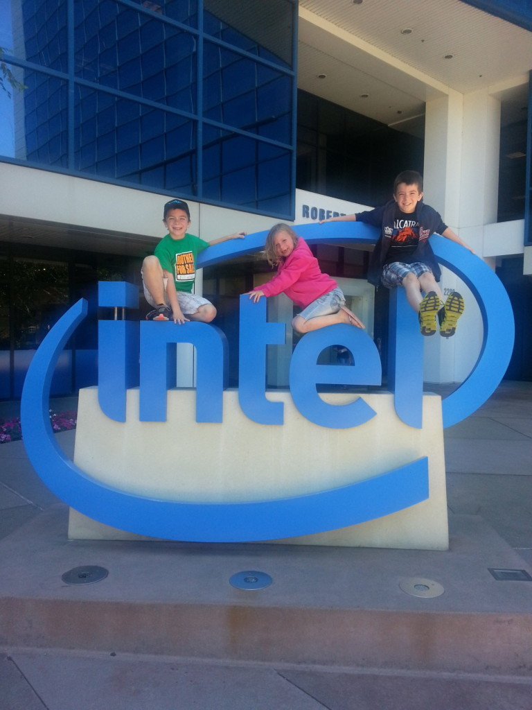 Intel Sign and The Silicon Valley Story