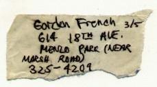 Homebrew, Gordon French