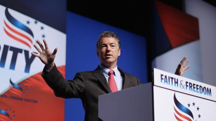 rand paul courts silicon valley