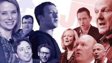 The Courting of #SiliconValley (and its #money)