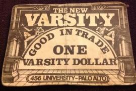 The Varsity On University Ave. Palo Alto