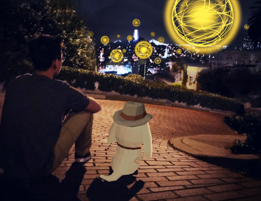 curio pets augmented reality app
